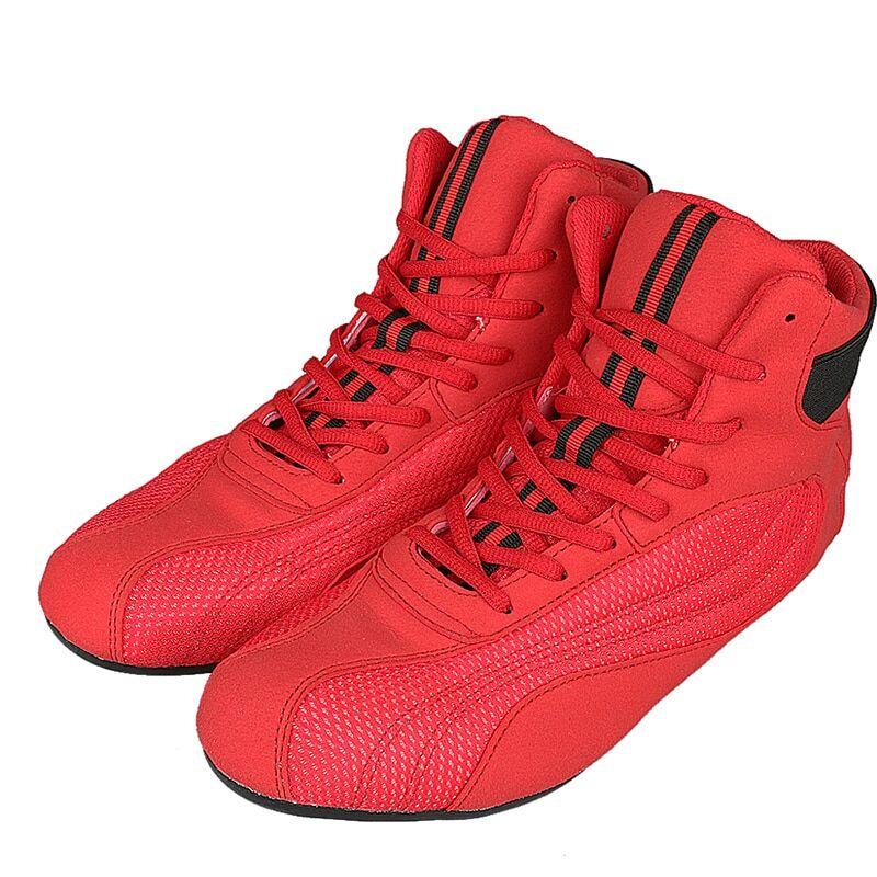 AliExpress Chaussures de boxe professionnelles pour hommes et femmes, baskets de lutte, respirantes, avec