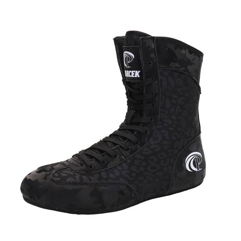 AliExpress Chaussures de boxe respirantes de haute qualité pour homme, baskets de combat, de luxe, tailles 36 à