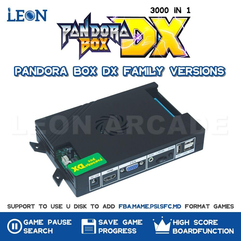 AliExpress Pandora Box – DX Original fonction de sauvegarde, Console de haut niveau, compatible Fba Mame Ps1,