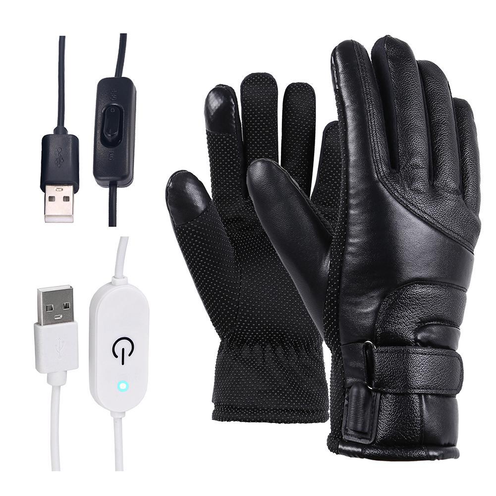 AliExpress Gants chauffants électriques coupe-vent pour hommes et femmes, cyclisme, écran tactile, gants de ski