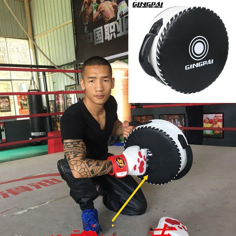 AliExpress Bouclier de boxe cible, grand Sanda rond, entraînement au combat lourd, Protection de la poitrine,