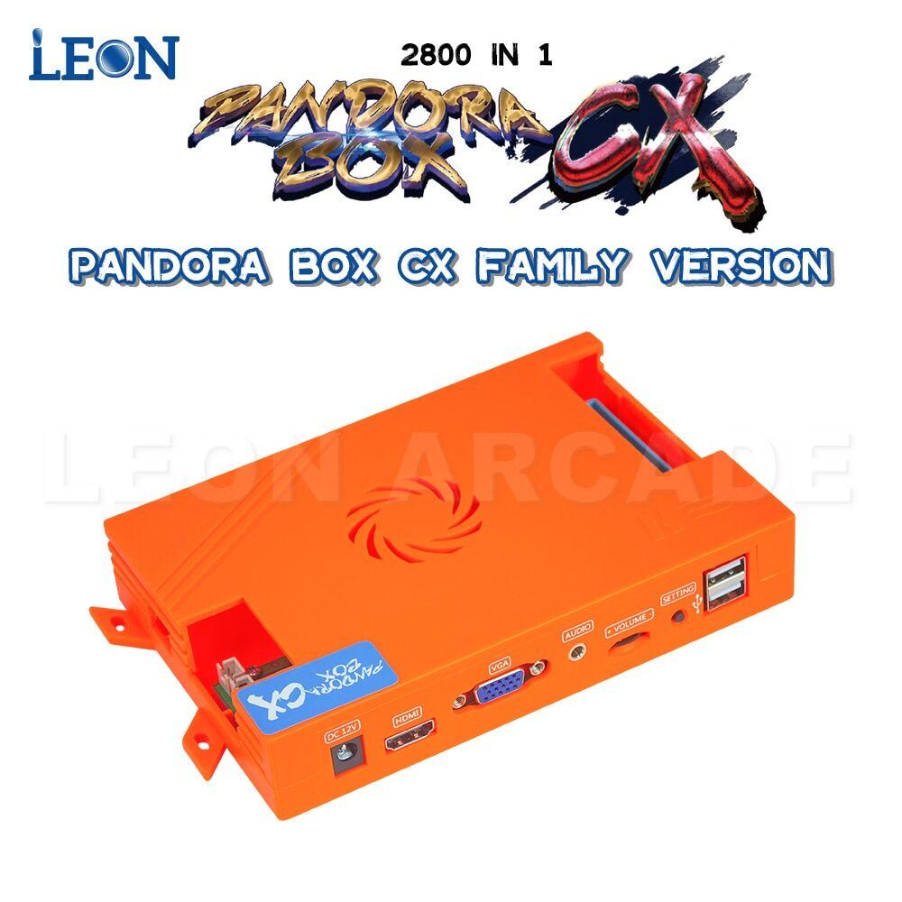 AliExpress Pandora Box – borne d'arcade rétro multi-joueurs, Version famille CX, fonction de sauvegarde,
