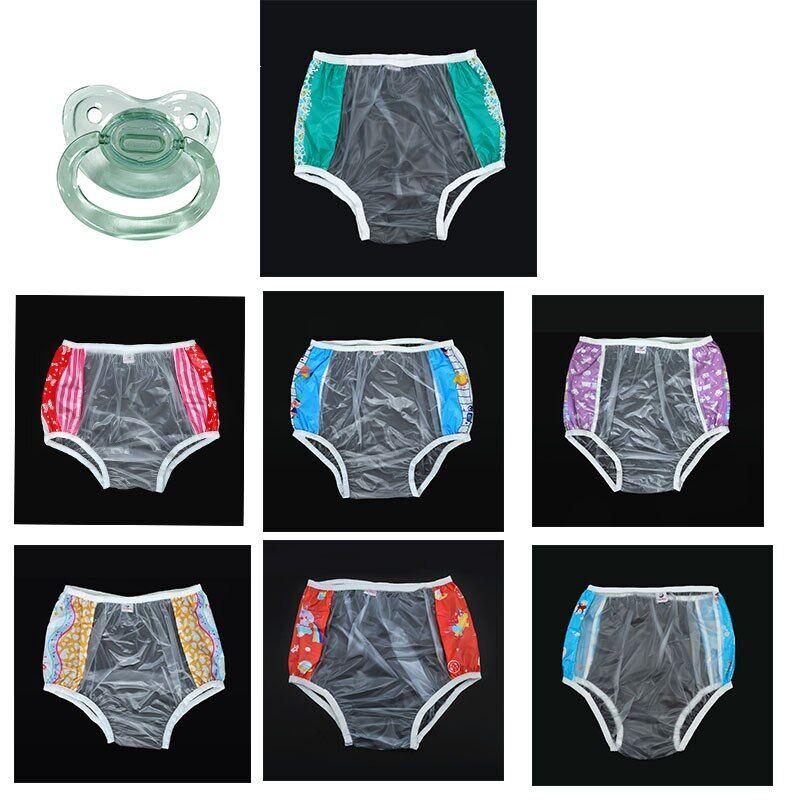 AliExpress ABDL – couche-culotte 7pvc pour adulte, 8 pièces, culotte pour bébé, en plastique, pour donner 1