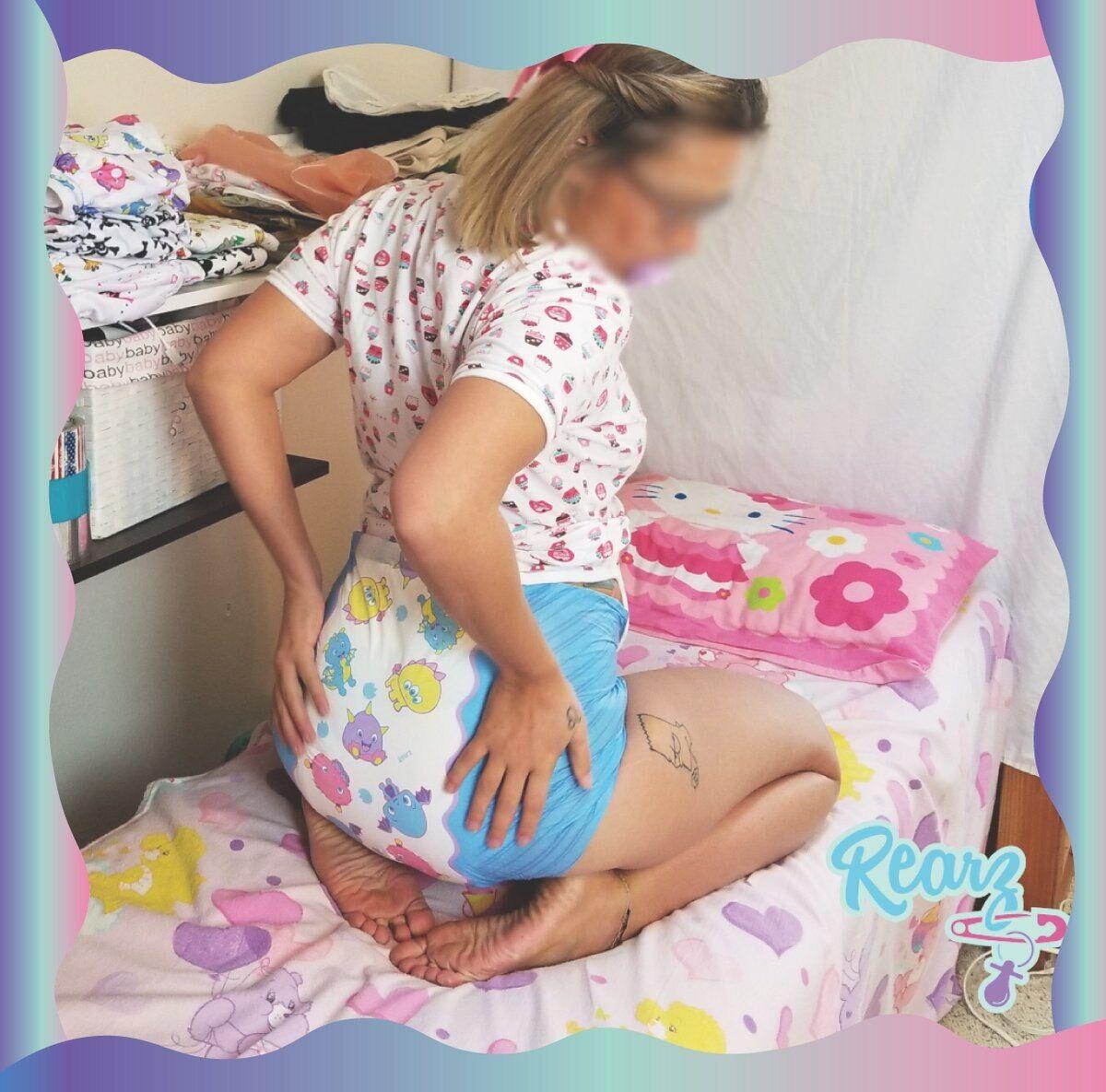 AliExpress Couche-culotte ABDL canadien avec parfum pour adulte et bébé, couche très absorbante DDLG papa