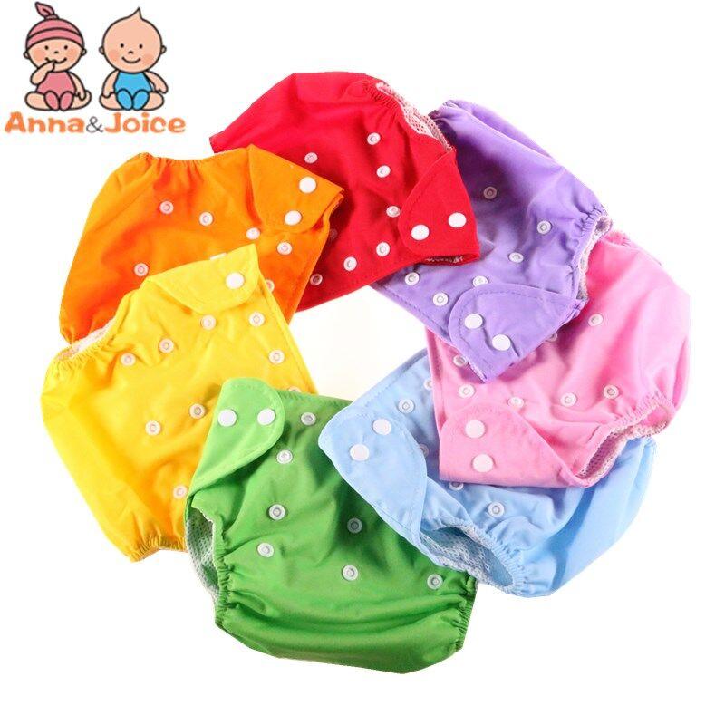 AliExpress Couche-culotte d'été réutilisable et lavable pour bébé, 10 pièces/lot, couches en tissu réglables