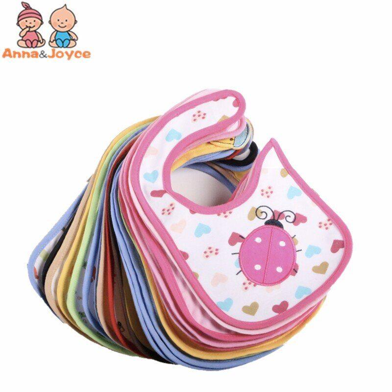 AliExpress Bavoirs en coton imperméables pour bébés, 20 pièces/lot, pour garçons ou filles