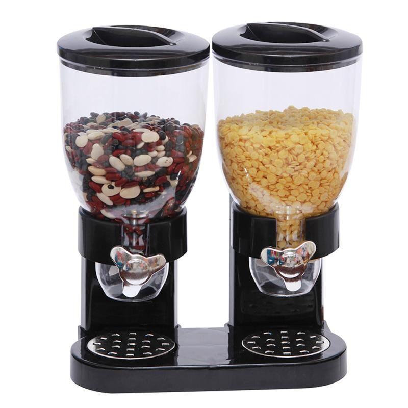 AliExpress Boîte de riz de cuisine, boîte de rangement, distributeur automatique de céréales, boîtes étanches à