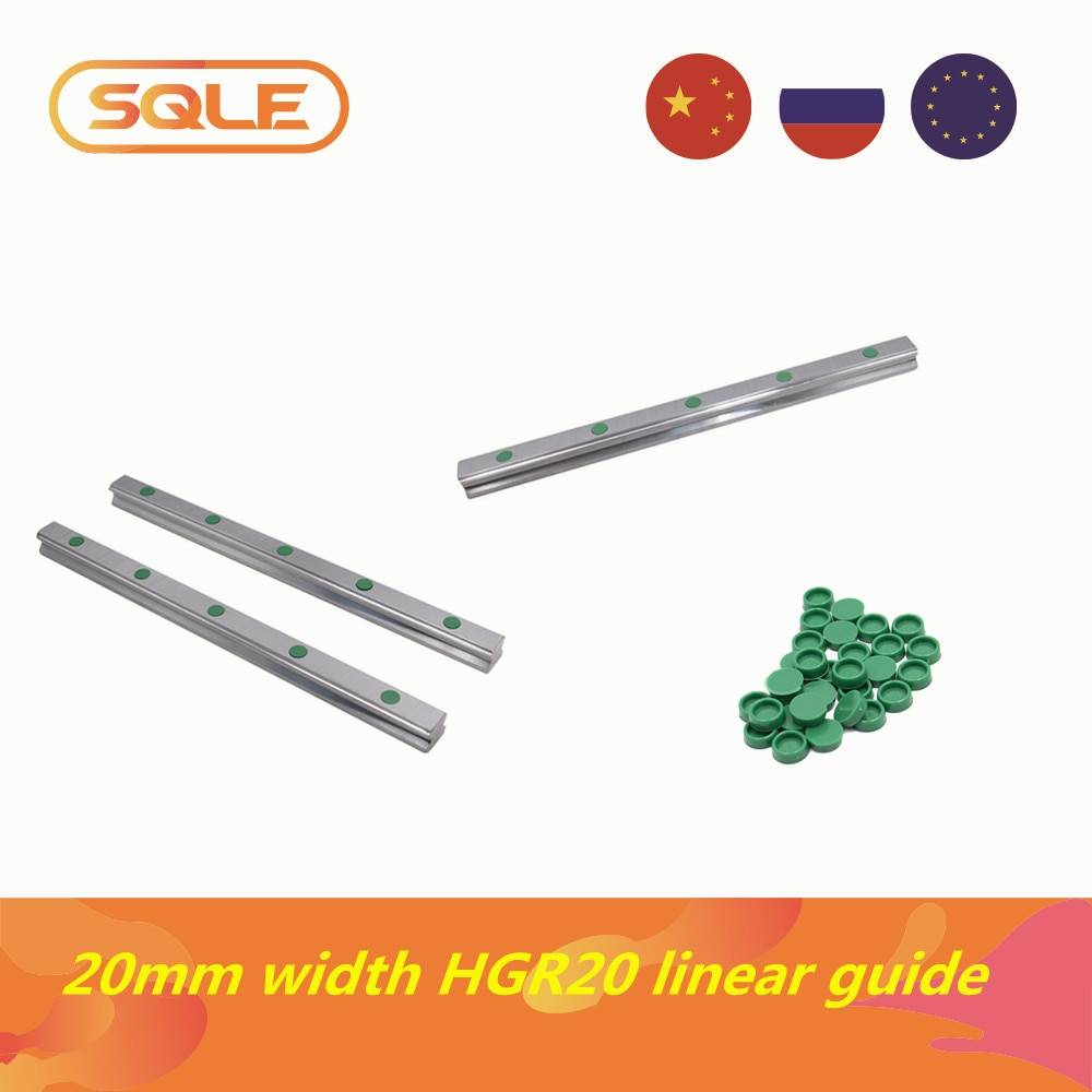 null Rail linéaire 1 pièces/lot 2 pièces/lot 3 pièces/lot HGH20 / HGR20 200-1550mm guide linéaire avec