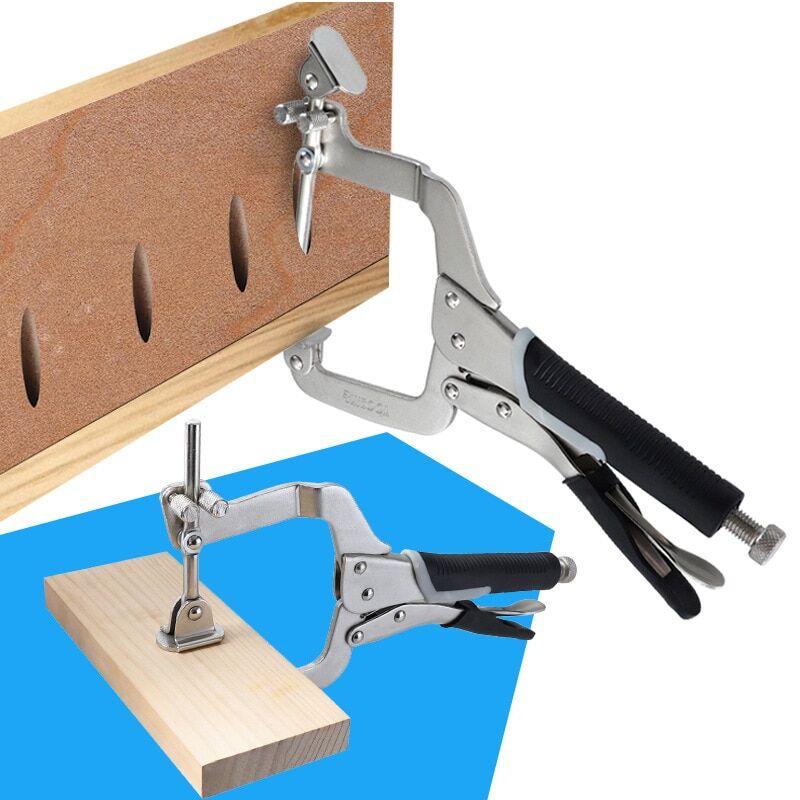 AliExpress Pince 2 en 1 à Angle droit réglable, pince en C pour le travail du bois de 12 pouces, soudage, outil
