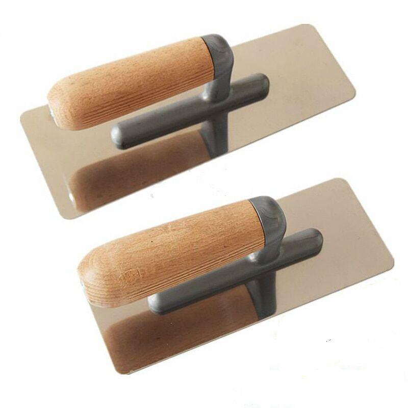 AliExpress Panneau de mortier en acier inoxydable, poignée en bois, artisanat à domicile, support de