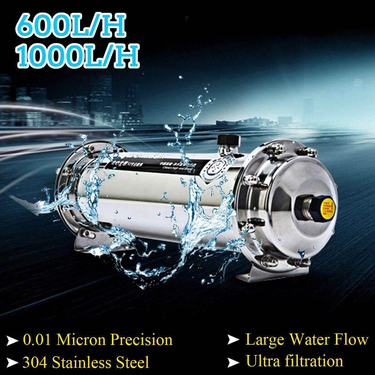 AliExpress Filtre à eau en acier inoxydable 304 600L/1000L, purificateur d'eau par ultrafiltration, pour