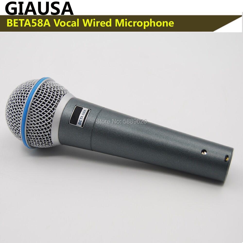 AliExpress Beta58a – microphone vocal professionnel, livraison gratuite, nouvelle boîte