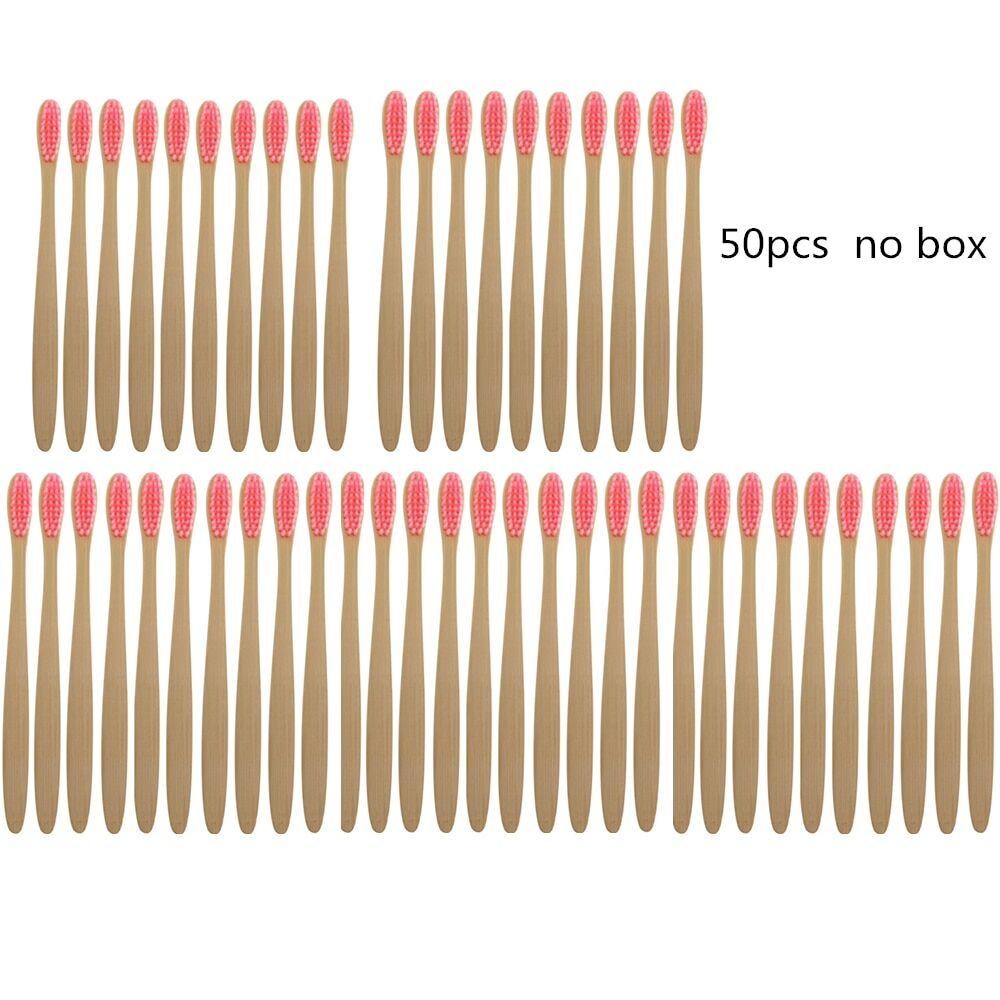 AliExpress Brosse à dents en bambou naturel, biodégradable, écologique, en bois, pas de boîte (besoin d'une