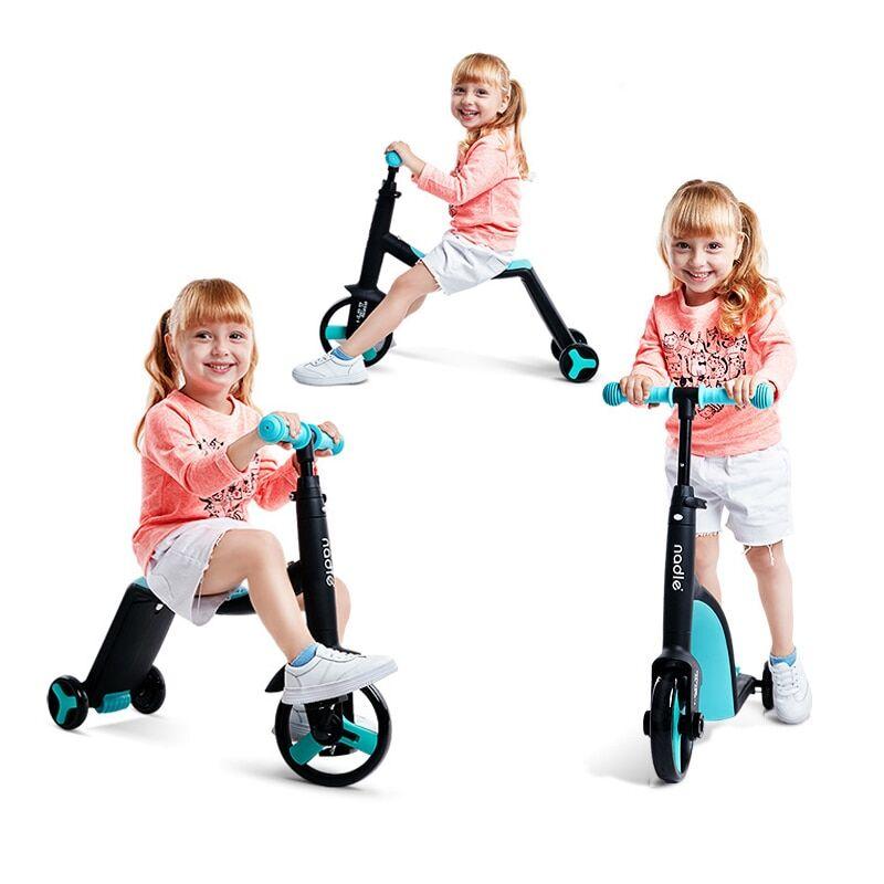 AliExpress Nadle — Tricycle 3 en 1 pour enfants, trottinette pour bébés, vélo avec jouets, vélo pour enfants