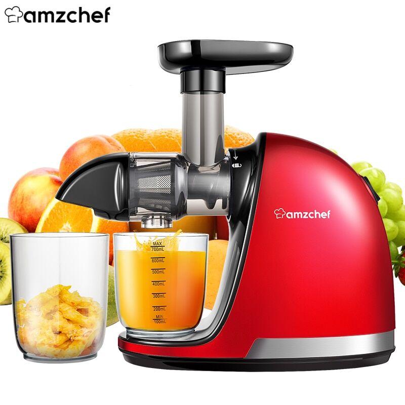 AliExpress AMZCHEF – presse-agrumes professionnel à mastication lente, extracteur de jus de fruits et légumes