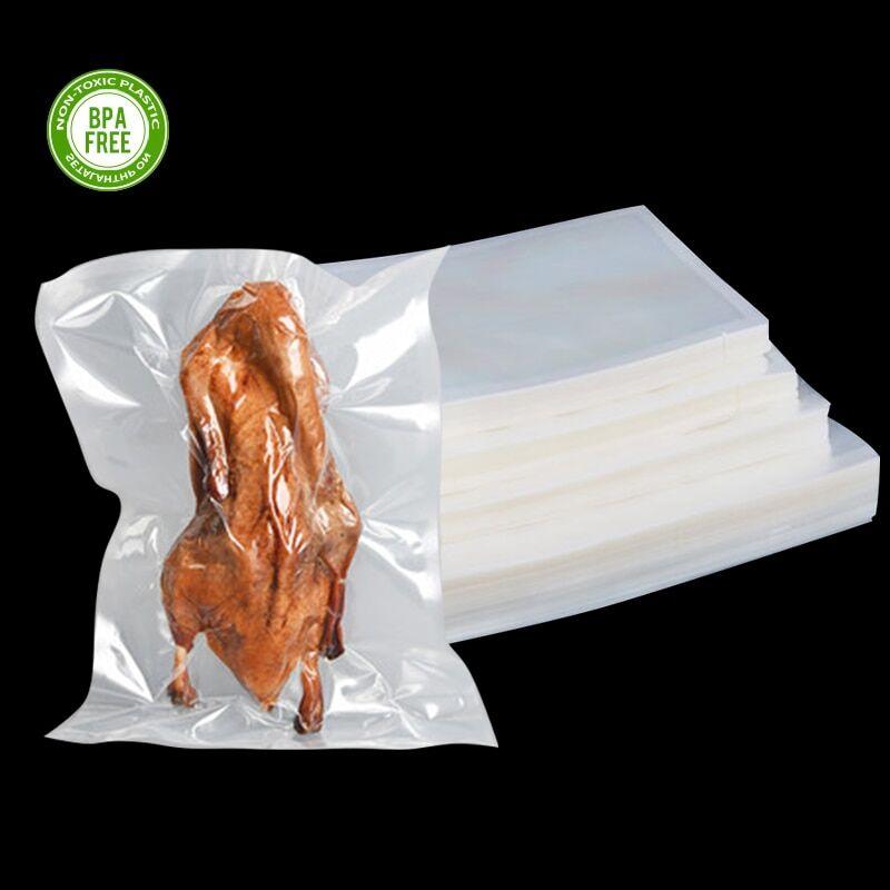 AliExpress Sacs sous vide pour aliments, 100 pièces/lot, sans BPA, Film chauffant et congélateur, emballage de