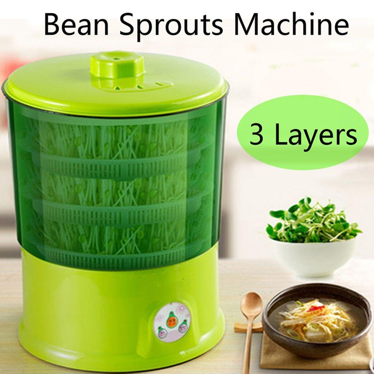 AliExpress Warmtoo – Machine de germination de haricots, 220V, 1,5 l, 3 couches, multifonctionnel, automatique,