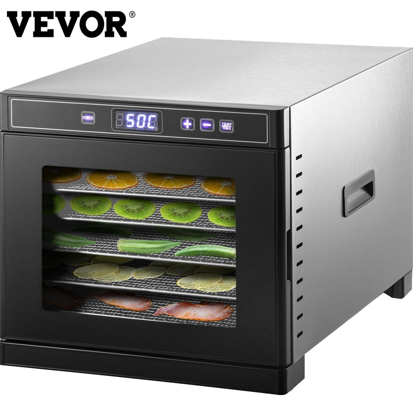 AliExpress VEVOR – séchoir pour légumes 6/10/16 plateaux, déshydrateur alimentaire, séchoir à congélation,