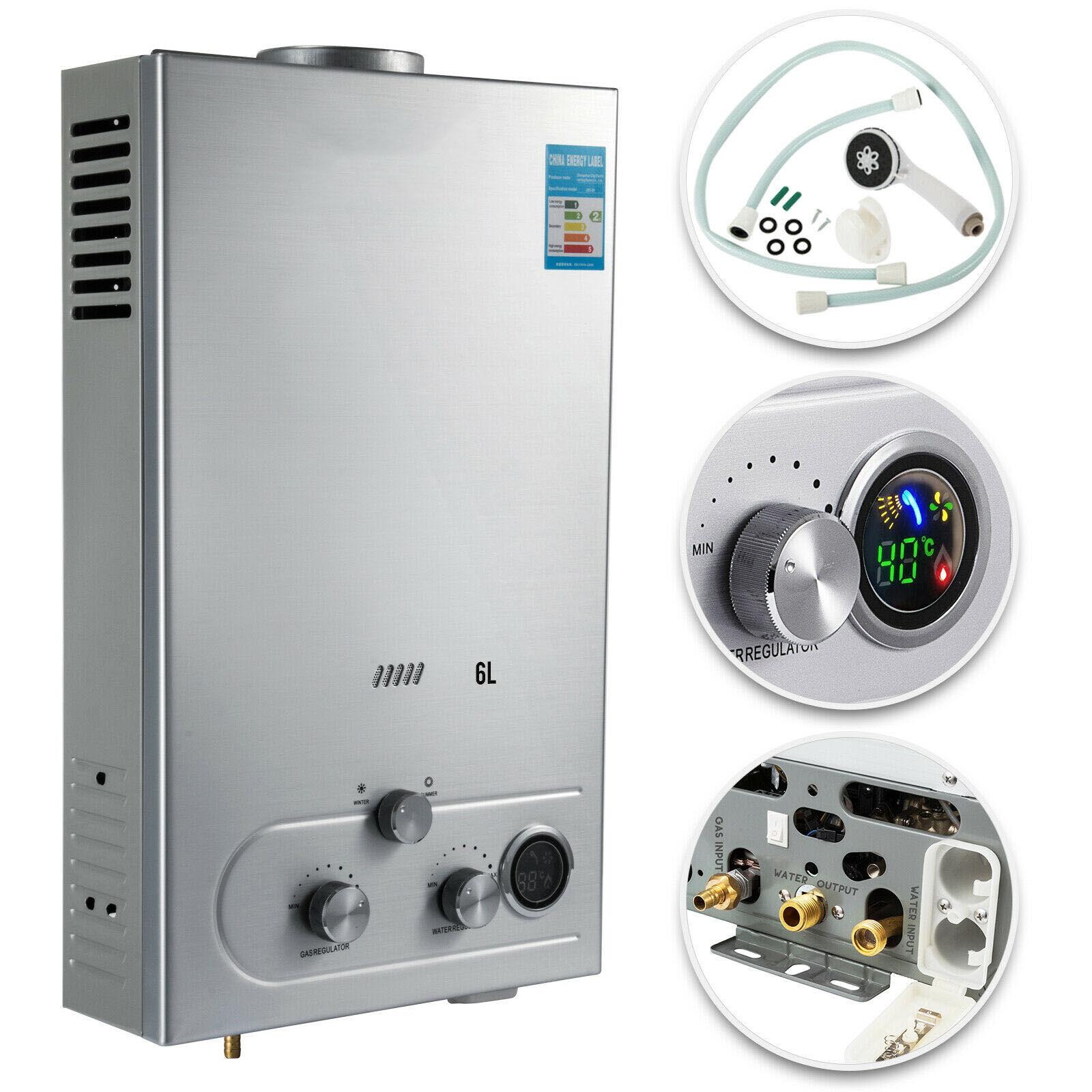 AliExpress Chauffe-eau au gaz propane 6L, chaudière à eau chaude