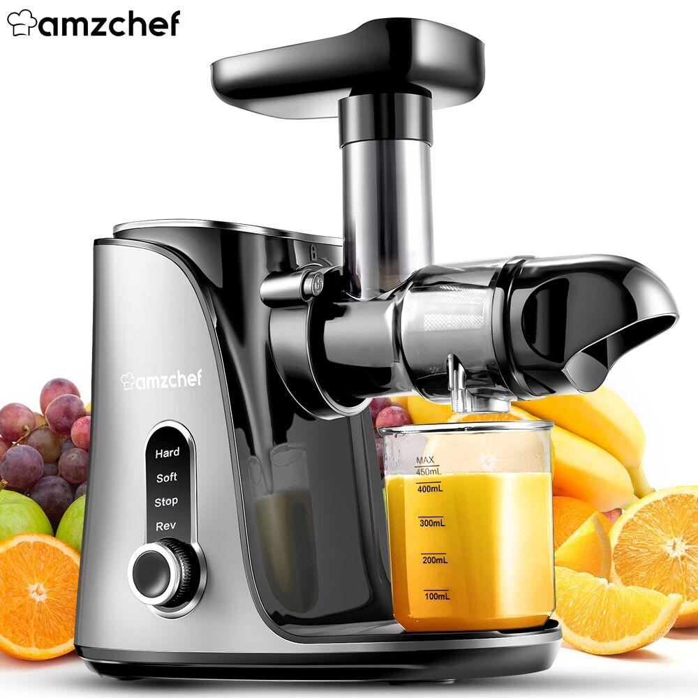 AliExpress AMZCHEF – presse-agrumes électrique automatique pour jus d'orange, Smoothie, lait de soja, Machine
