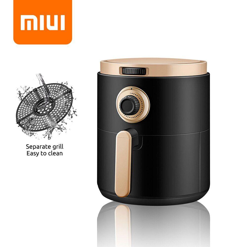 AliExpress MIUI Friteuse à Air sans huile maison intelligente 3L grande capacité multifonction électrique