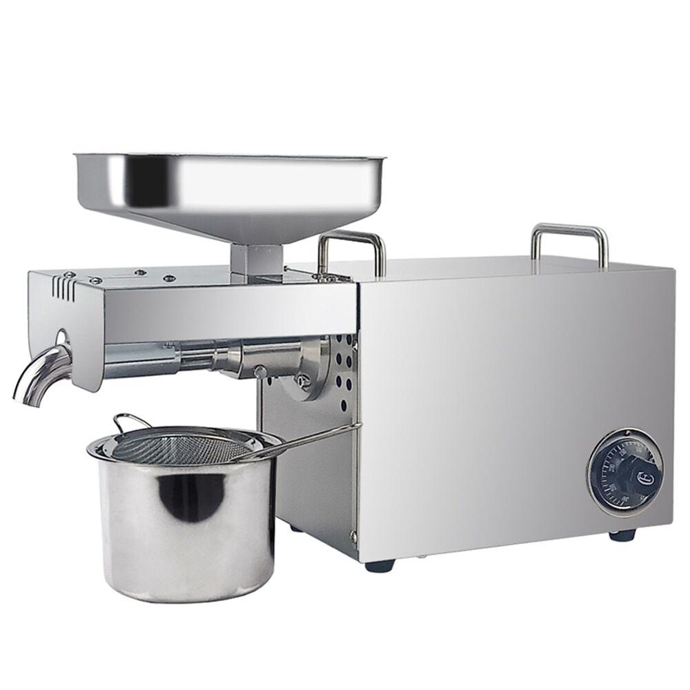 AliExpress Presse à huile commerciale en acier inoxydable, Machine d'extraction d'huile de noix de coco, froid