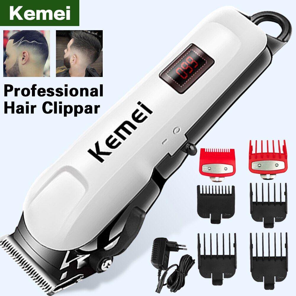 AliExpress Kemei Tondeuses À Barbe Pour hommes Tondeuse À cheveux professionnelle électrique machine de coupe