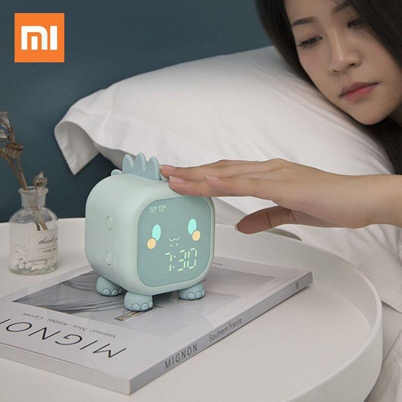 AliExpress Xiaomi – réveil Led à commande vocale, veilleuse pour enfants, réveil de bureau avec affichage de la