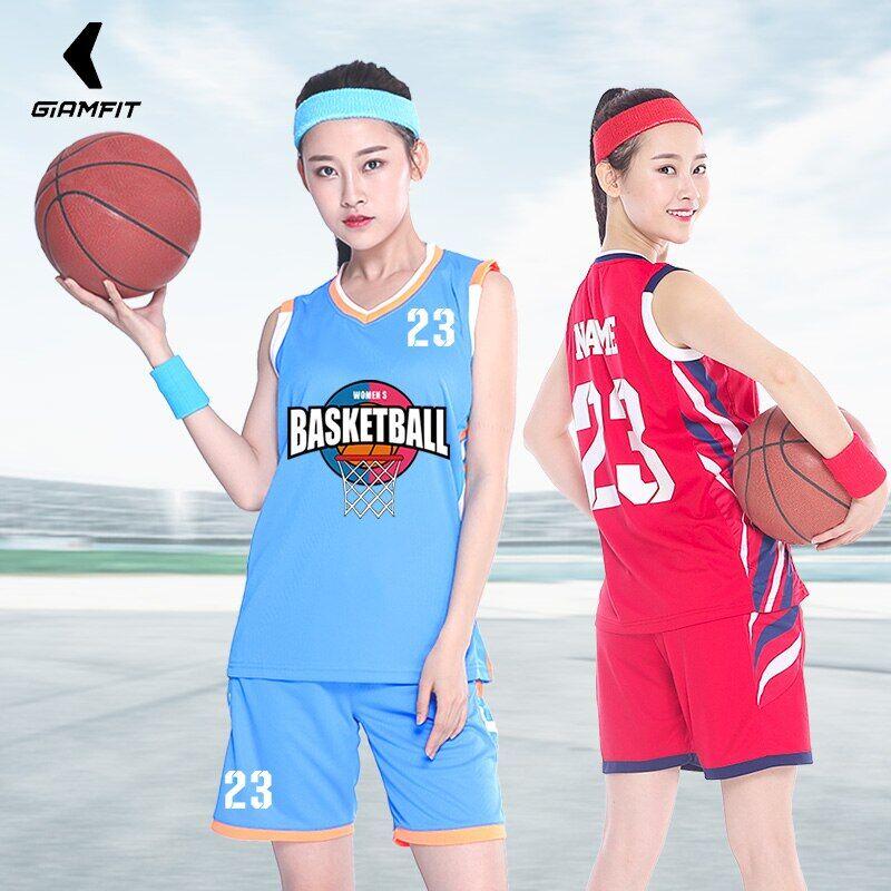 AliExpress Maillot de basket-ball pour filles, uniforme professionnel pour femmes, vêtements personnalisés