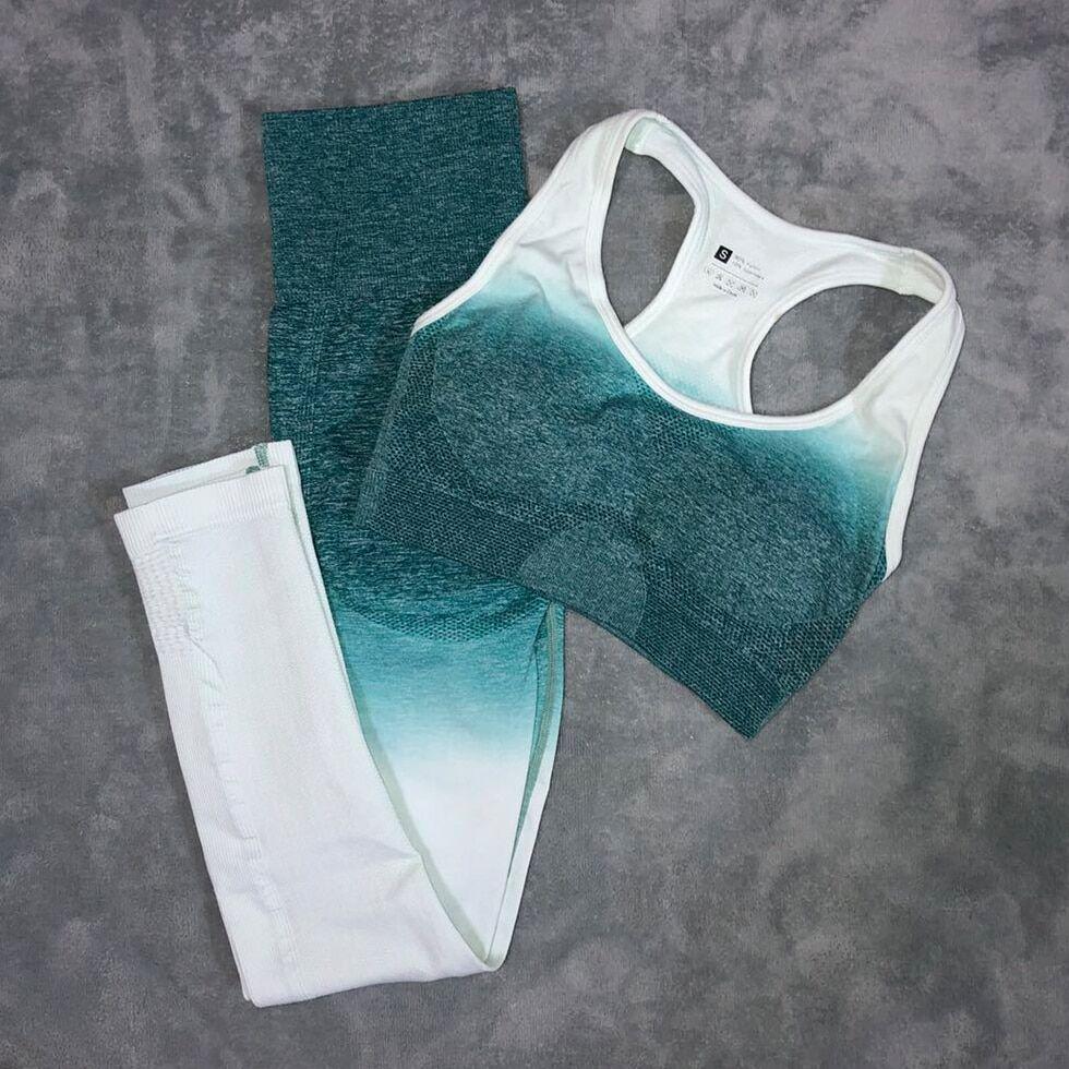 AliExpress Ensemble de legging et soutien-gorge sans couture de yoga pour femme,vêtement fitness de sport et de