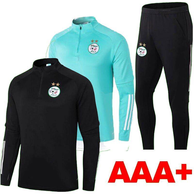 AliExpress Maillots De sport homme + enfant, équipe De Football algérien, ensemble De course à pied, MAHREZ,