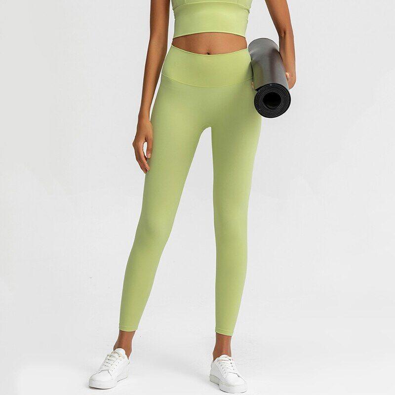 AliExpress Leggings de Sport taille haute pour femmes, pantalon de Yoga, de Fitness, d'athlétisme, grande