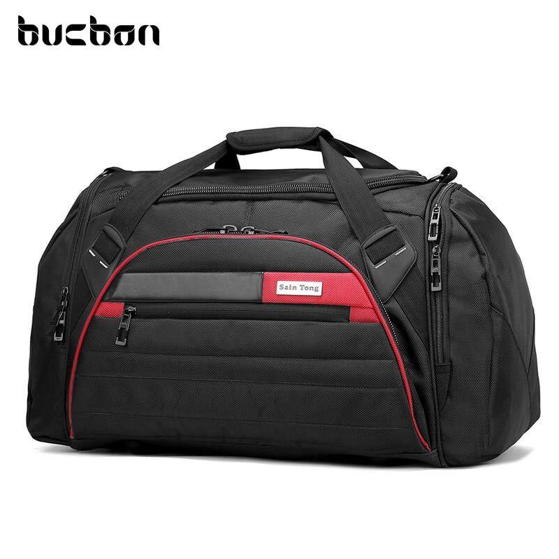 AliExpress Seau – grand sac de Sport multifonction 45l pour hommes et femmes, étanche, pour Fitness, Gym,