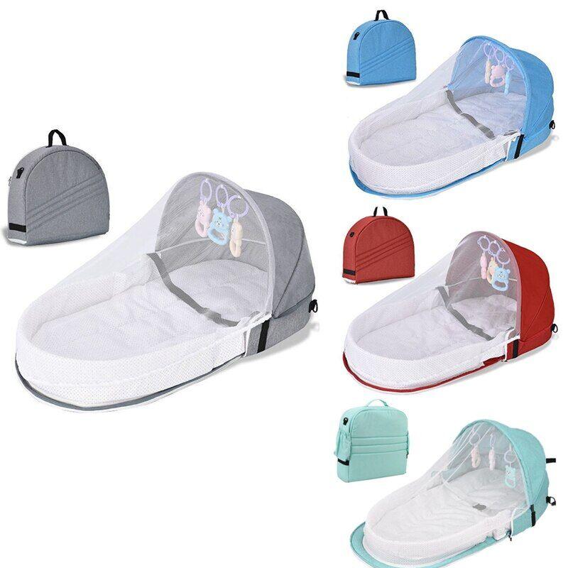 AliExpress Lit pour enfants, moustiquaire de Protection pour nouveau-né, avec couffin Portable, panier de