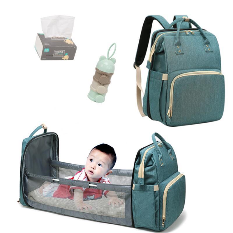 AliExpress Sac à dos pliable pour lit de bébé, couffin pour maman et nouveau-né, sac à dos intérieur de voyage,