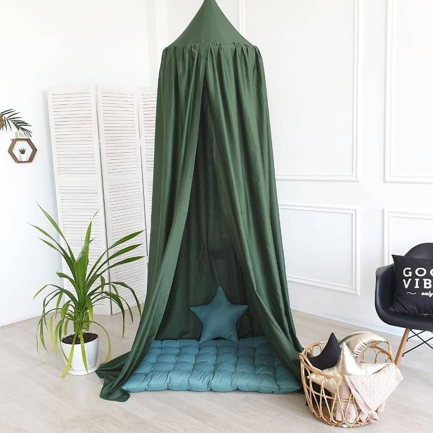 AliExpress Moustiquaire dôme suspendue en coton pour bébé, rideau de lit, tente de berceau, canopée, décoration