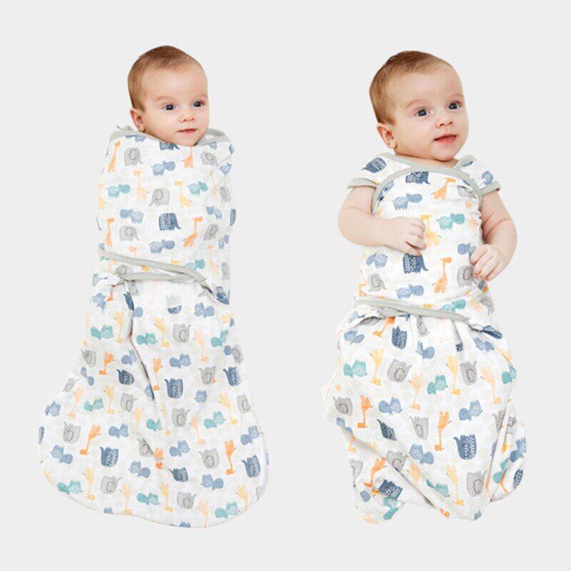 AliExpress Emmailloter bébé garçon et fille de 2 à 6 mois 3 4 5 mois, sac d'amour pour dormir en toute sécurité