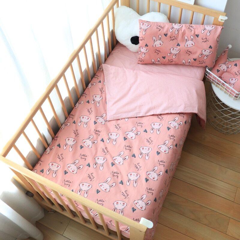 AliExpress Ensemble de literie en coton pour bébé, linge de lit pour berceau, housse de couette pour enfant,