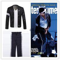 michael Costume de Cosplay Michael Jackson, veste et pantalon à paillettes pour enfants et adultes, couleur <br /><b>37.78 EUR</b> AliExpress - FR
