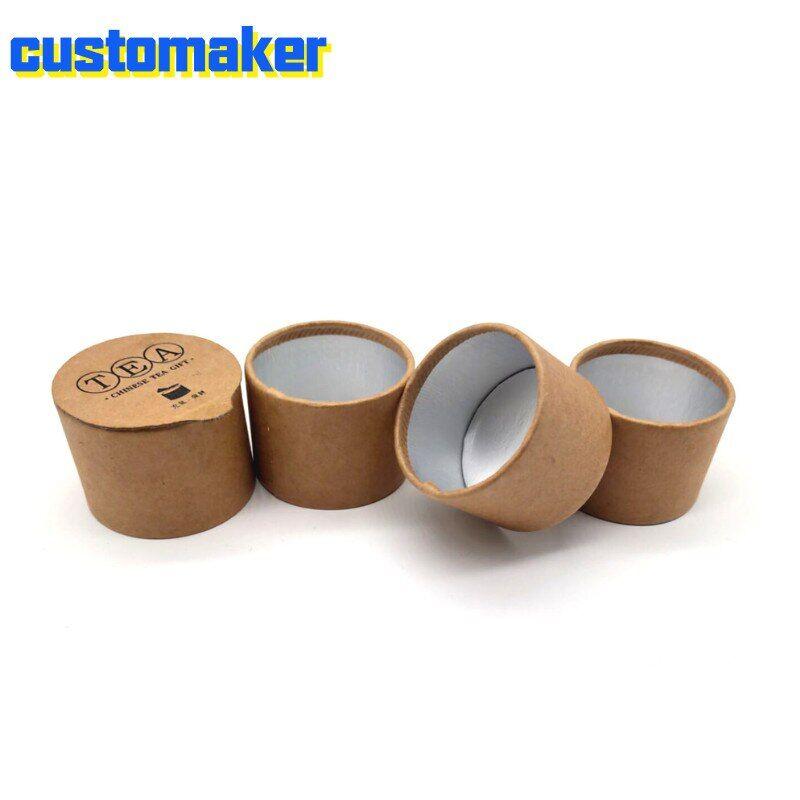 AliExpress Boîte à thé en papier kraft écologique, qualité alimentaire, protection de l'environnement, petite