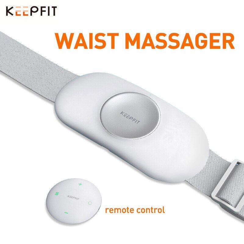 AliExpress KEEPFIT – masseur lombaire à lumière infrarouge pulsée, effet basse fréquence, compression chaude,