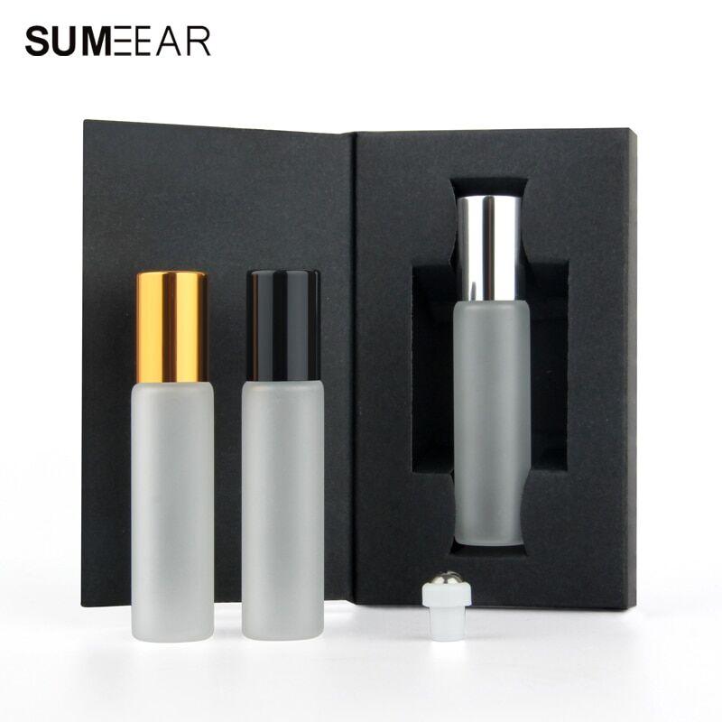 AliExpress Flacon d'huile essentielle à rouler 50/10ml, flacon d'échantillon de parfum vide, Mini bouteille de