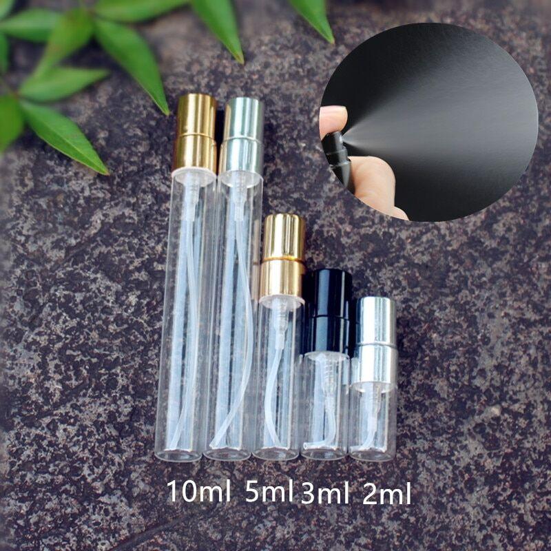 AliExpress Flacon pulvérisateur de parfum en verre fin vide avec pompe en Aluminium, flacon cosmétique de