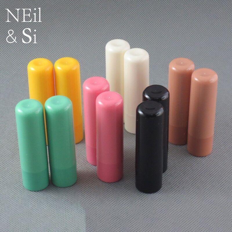 AliExpress Bouteille de rouge à lèvres en plastique vide, Tube de crème fait à la main, conteneurs de