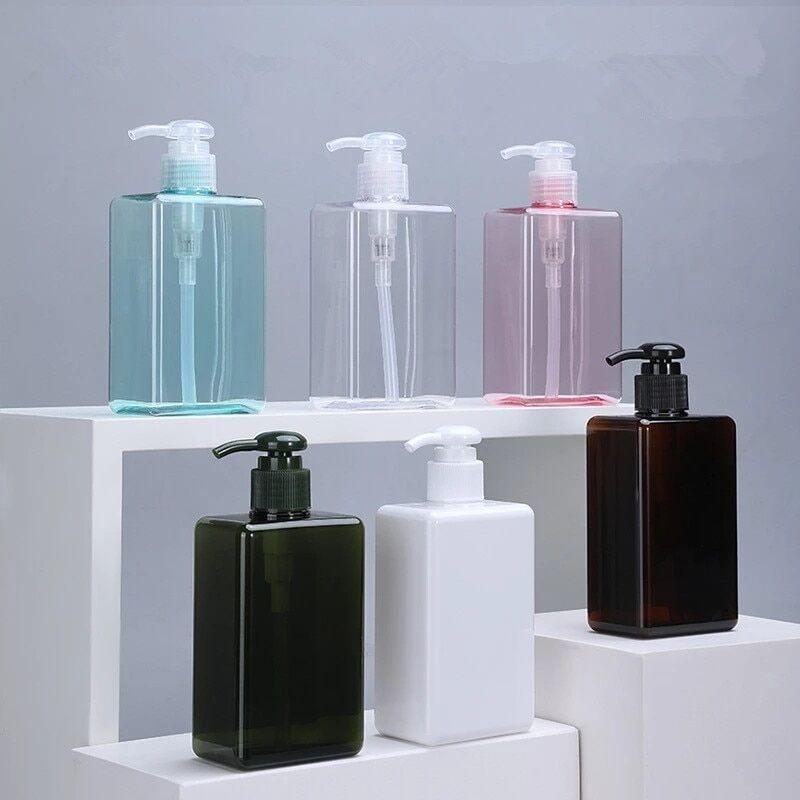 AliExpress Bouteille pompe rechargeable de 280ml, haute qualité, distributeur vide en plastique pour Lotion