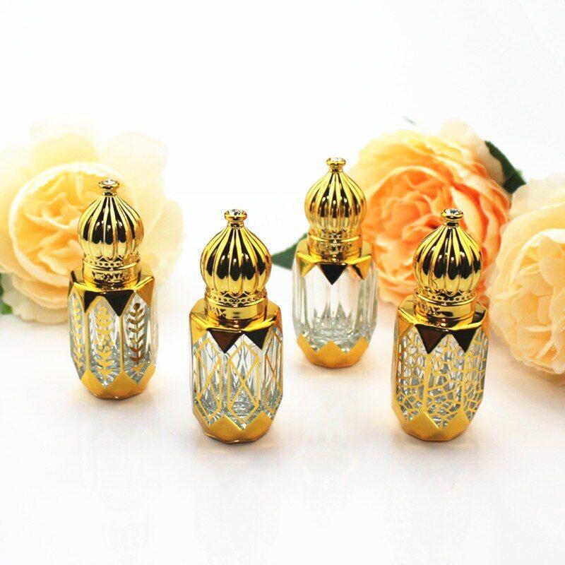 AliExpress Flacons d'huile essentielle en verre épais, 10 pièces/lot, Mini bouteille de parfum vide avec
