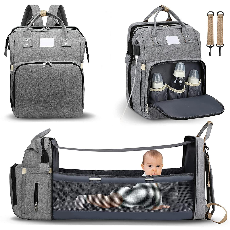 AliExpress Sacs à langer pour bébé, Station à langer Portable, lit de bébé, couffin de voyage pliable, matelas
