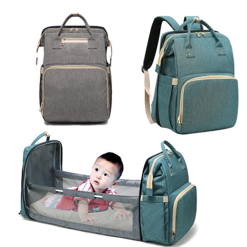 AliExpress Sac à couches pour maman, sac à dos de lit pour nouveau-né, couffin de voyage pratique, envoi