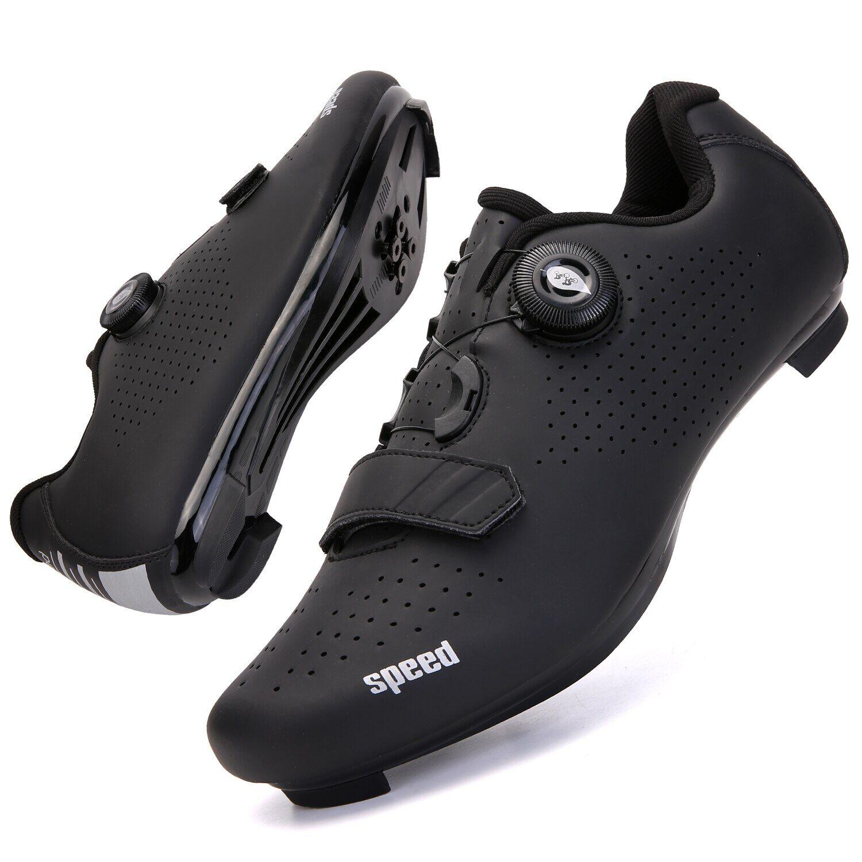 AliExpress Chaussures de vélo de montagne pour hommes et femmes, baskets de course de vitesse sur route, Spd