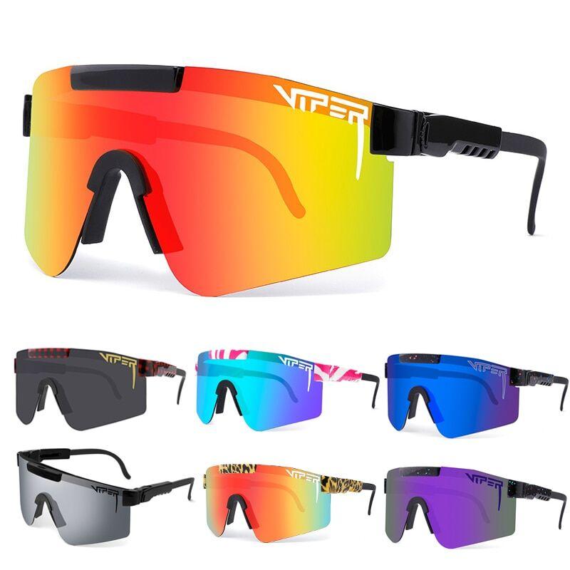 AliExpress Pit Viper – lunettes de soleil polarisées pour hommes et femmes, cyclisme, vtt, coupe-vent, Ski,